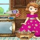 بازی تمیز کردن آشپزخانه صوفیا