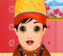 بازی فلش انتخاب لباس نوزاد شیک پوش